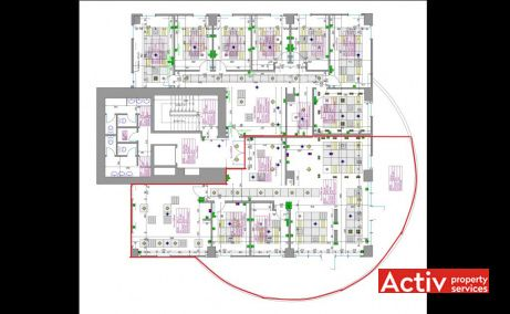 David Business Center, plan etaj