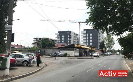 Imobil birouri cu parcare Sector 5 inchiriere birouri Bucuresti zona de sud poza cale de acces