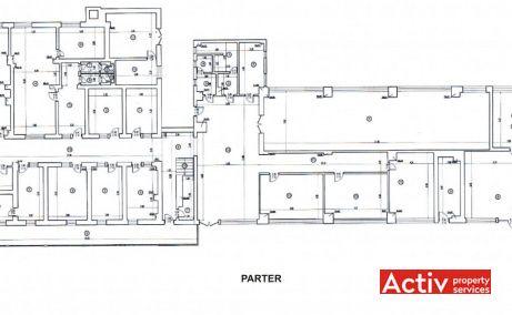 Imobil birouri cu parcare Sector 5 birouri de inchiriat Bucuresti zona de sud plan parter