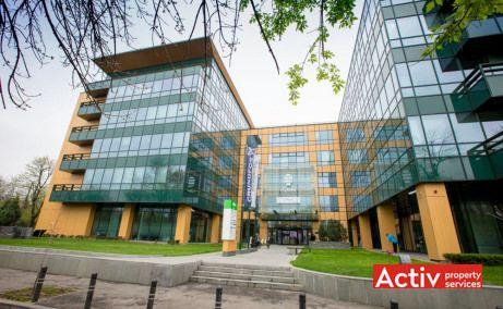 S-Park închirieri spații birouri nord Casa Presei Libere imagine intrare
