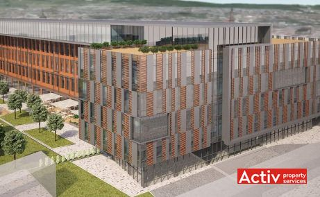 Advancity Business Center birouri de inchiriat Cluj-Napoca central imagine de ansamblu cladire