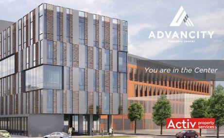 Advancity Business Center inchiriere spatii de birouri Cluj-Napoca zona centrala imagine de ansamblu fatada cladire