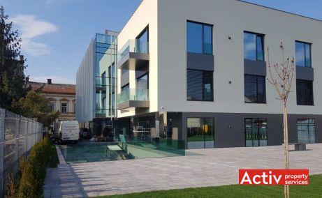 Mainstream Office spatii de birouri Cluj-Napoca zona centrala imagine cladire vedere din spate