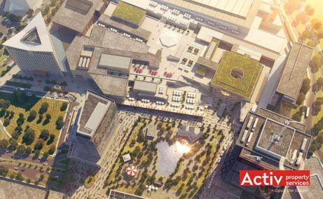 United Business Center Timisoara, OpenVille - vedere aeriana de ansamblu