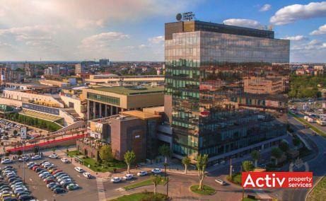 United Business Center Timisoara, OpenVille - vedere de ansamblu cladirea UBC 2 (prima finalizata)