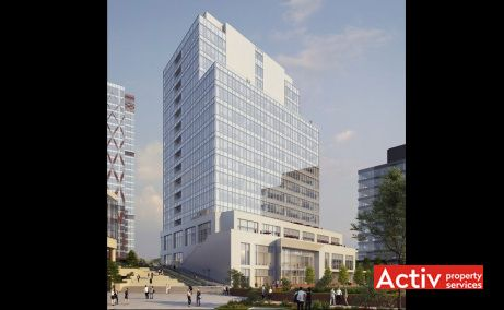 United Business Center Timisoara birouri de inchiriat Timisoara central imagine cladire