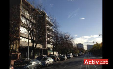 Calea Floreasca 212 inchiriere spatii de birouri Bucuresti nord vedere din Calea Floreasca