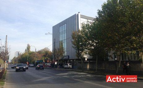 Expozitiei 101 spatii de birouri de inchiriat Bucuresti nord poza cale de acces