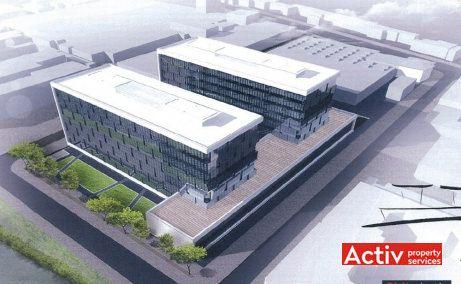 Închiriere birouri în Bega Business Park proiect extindere