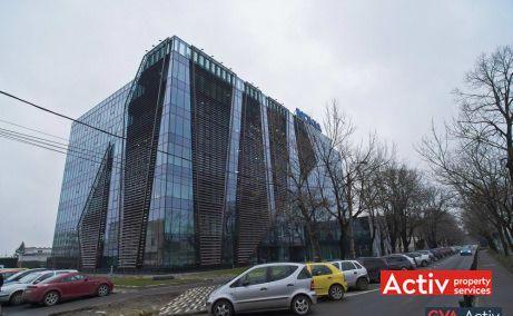 BEGA BUSINESS PARK spații de birouri Timișoara fotografie din parcare