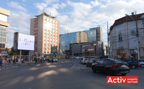 City Business Center spatii de birouri de inchiriat Cluj-Napoca central vedere de ansamblu cu vecinatati