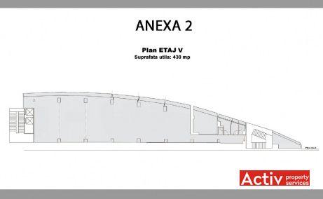 City Business Center inchiriere spatii de birouri  Cluj-Napoca central plan etaj curent