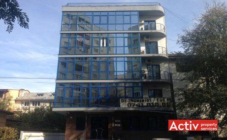 Aviator Popisteanu 16 birouri de inchiriat Bucuresti nord imagine fatada cladire