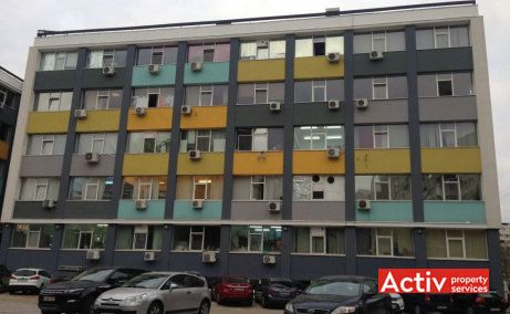 Ipromet Imobili birouri de inchiriat Bucuresti zona de vest imagine fatada cladire