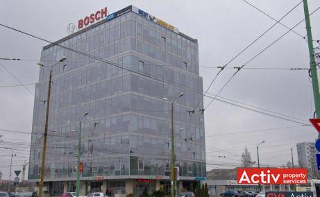 AGN Business Centre birouri de vanzare Timișoara zona centrală, vedere fațadă