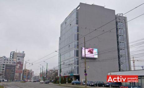 AGN Business Centre birou de vanzare Timișoara vedere din Calea Aradului
