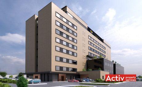Hexagon Offices spatii de birouri de inchiriat Cluj-Napoca zona de sud poza de ansamblu