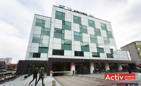 Cluj Business Campus închiriere birouri Cluj-Napoca vederere fațadă