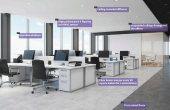 One Tower inchiriere spatii de birouri Bucuresti Calea Floreasca idee amenajare