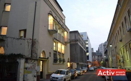 Pitar Mos 6 spatii de birouri de inchiriat Bucuresti zona centrala vedere cale de acces