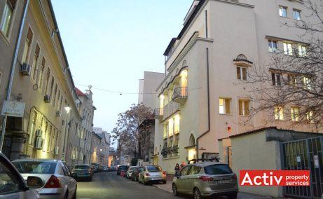 Pitar Mos 6 spatii de birouri de inchiriat Bucuresti central vedere cale de acces Pitar Mos