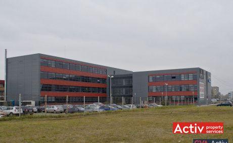 Optica Business Park birou de închiriat în zona sud Timișoara vederere de ansamblu