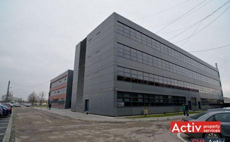 Optica Business Park spații de birouri Timișoara perspectivă generală Calea Buziașului