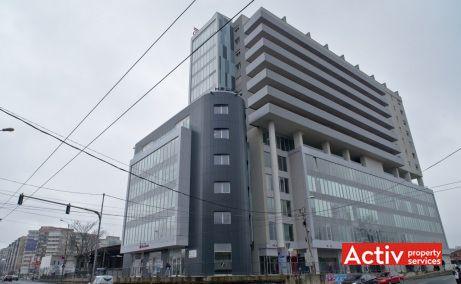 Fructus Plaza vanzare birouri Timișoara vederere intersecția Gheorghe Lazăr cu Ion Zaicu