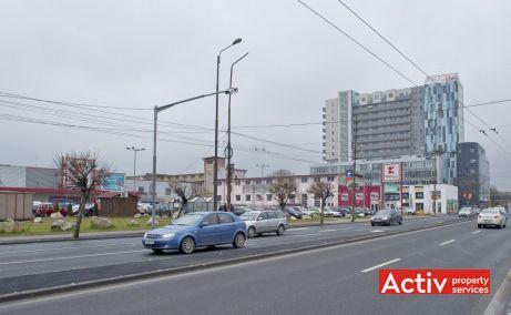 Fructus Plaza birouri de vanzare Timișoara central perspectivă incadrare in zonă
