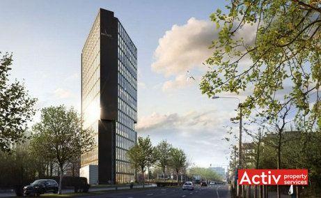 Ana Tower inchiriere spatii de birouri Bucuresti nord vedere cale de acces