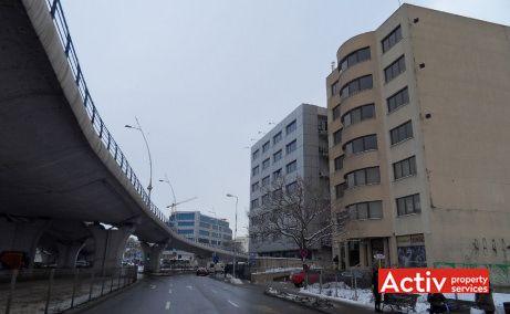 Edelweiss inchiriere spatii de birouri Bucuresti zona centrala vedere cale de acces