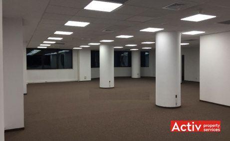 Edelweiss spatii de birouri de inchiriat Bucuresti zona centrala imagine interior open space