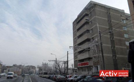 Plevnei 53 birouri de inchiriat Bucuresti zona centrala poza cale de acces