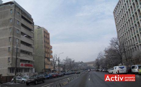 Plevnei 53 inchiriere birouri Bucuresti zona centrala vedere de ansamblu din bulevard