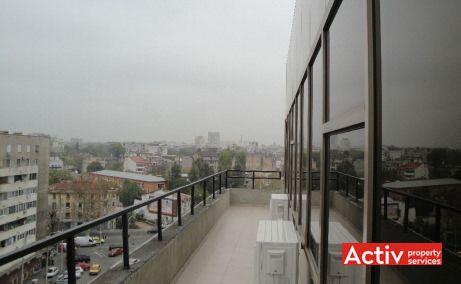 Plevnei 53 spatii de birouri de inchiriat Bucuresti zona centrala imagine terasa