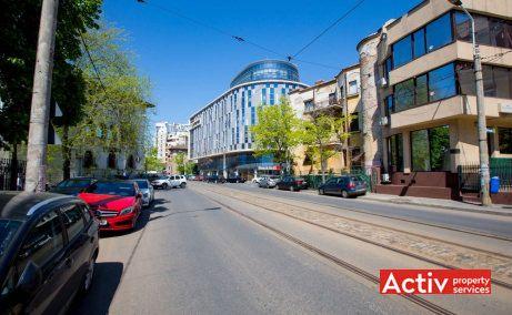 Armand Business Center birouri de inchiriat Bucuresti zona centrala vedere cale de acces