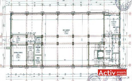 Vector Business Center birouri de inchiriat Cluj Napoca nord plan etaj curent