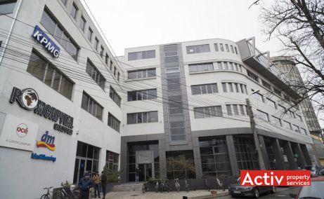 Birouri de închiriat în clădirea Romcapital Center