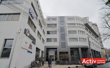 Romcapital Center birouri de inchiriat Timisoara zona centrala imagine fatada cladire