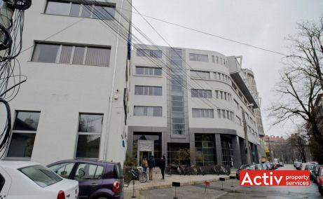 Romcapital Center inchiriere spatii de birouri Timisoara central poza intrare cladire