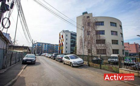 Agrovet Office Building birouri de închiriat București nord perspectivă încadrare în zonă