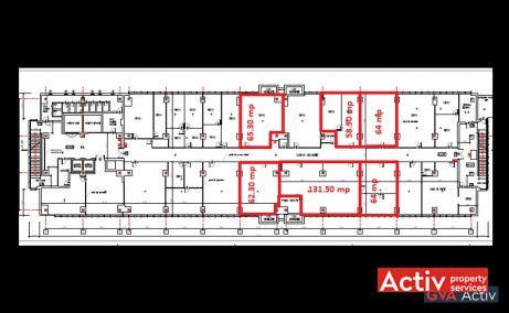 Electroaparataj Office Building cladire de vanzare Bucuresti zona de est plan
