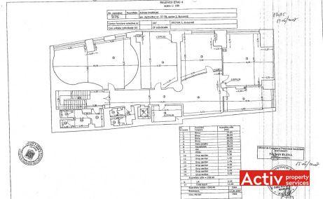 Codecs Office Building birouri de inchiriat Bucuresti central plan etaj curent