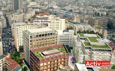 Matei Millo Office birouri de inchiriat Bucuresti zona centrala imagine panoramica