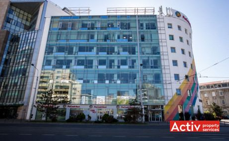 Cascade Offices birouri de inchiriat Bucuresti central imagine fatada cladire