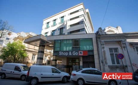 Astoria Business Center birou de închiriat București ultracentral fotografie de fațadă