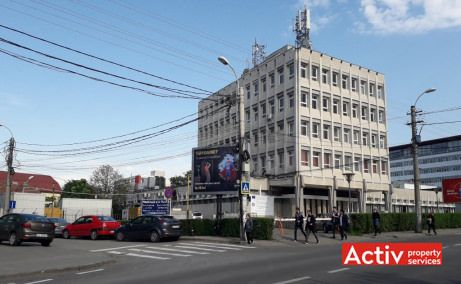Cladirea C.I.A birouri de inchiriat Cluj-Napoca sud vedere stradala