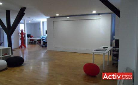 Pitar Mos 12A de inchiriat cladire de birouri Bucuresti central vedere spatiu interior