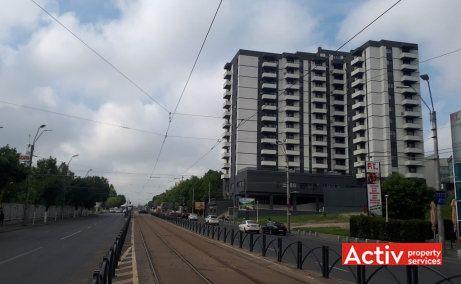 Tineretului City birouri de inchiriat Bucuresti zona de sud vedere cale de acces