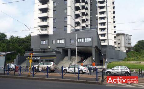 Tineretului City spatiu de birouri de inchiriat Bucuresti zona de sud poza intrare in cladire